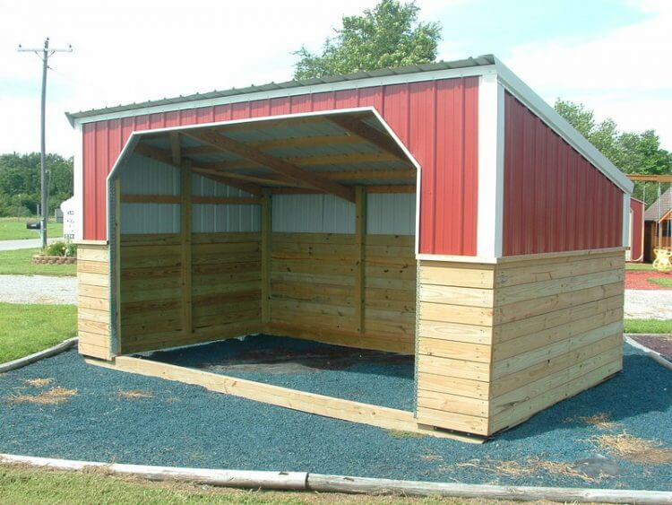 Amish Built Sheds, Mini Barns & Cabins in Indiana · Hostetler's