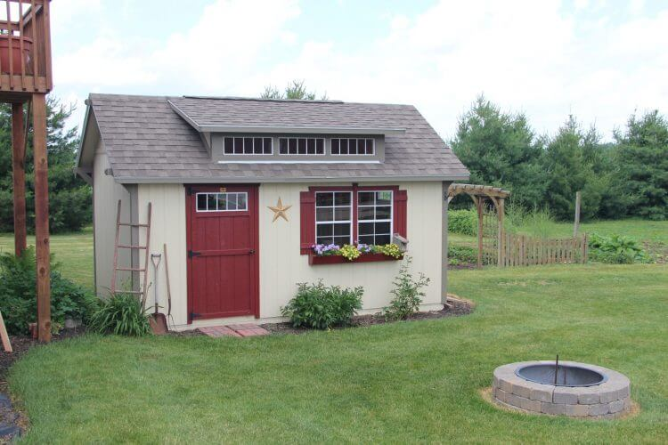 Amish Built Sheds, Mini Barns & Cabins in Indiana